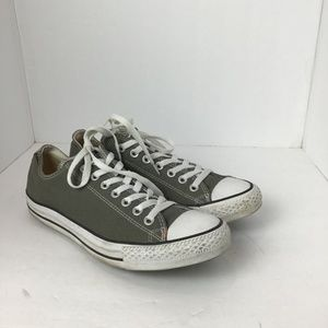 Converse Chuck Taylor All Star Low Top Shoe Grey